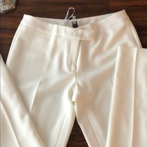 Anne Klein cream lined pants